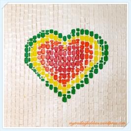 acrylic painting Heart