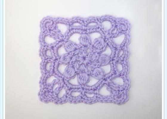 Square Crochet Motif