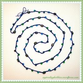 DIY Bead Crochet Necklace (c)mytrailinghobbies.wordpress.com