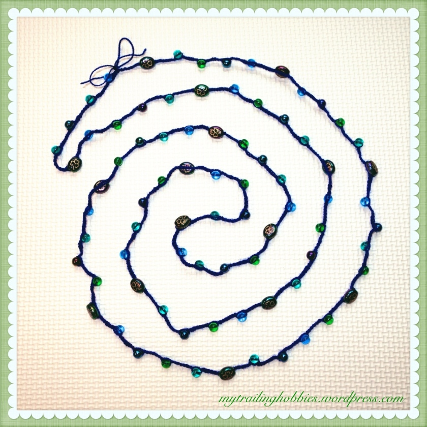 Crochet-Necklace-Shamrock