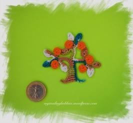 Crochet Motif - Tree