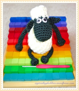 Shaun the Sheep Amigurumi