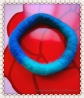 wet felted bracelet - the Wave (c)mytrailinghobbies.wordpress.com