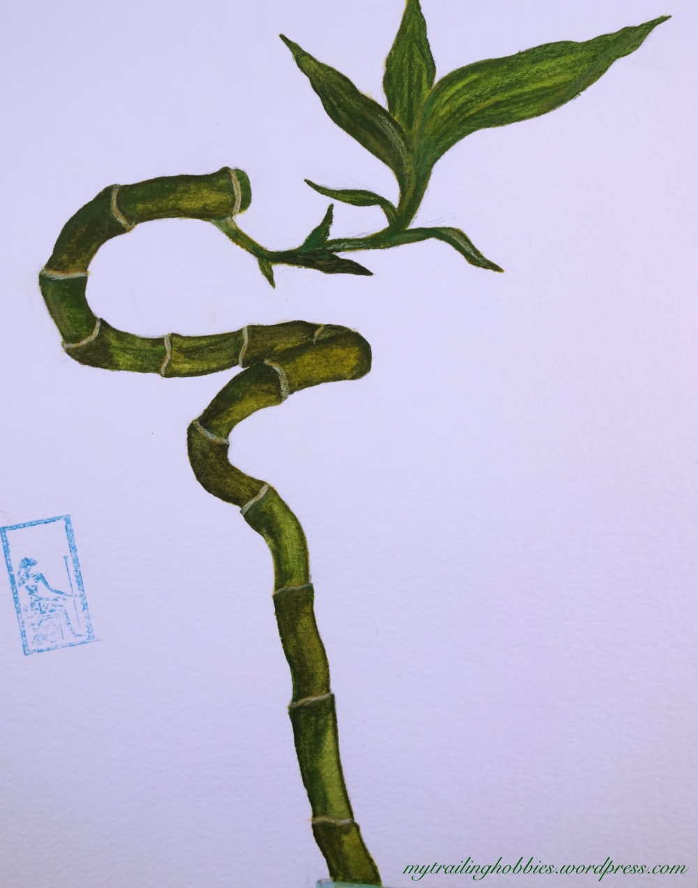 bamboo painting (c)mytrailinghobbies.wordpress.com