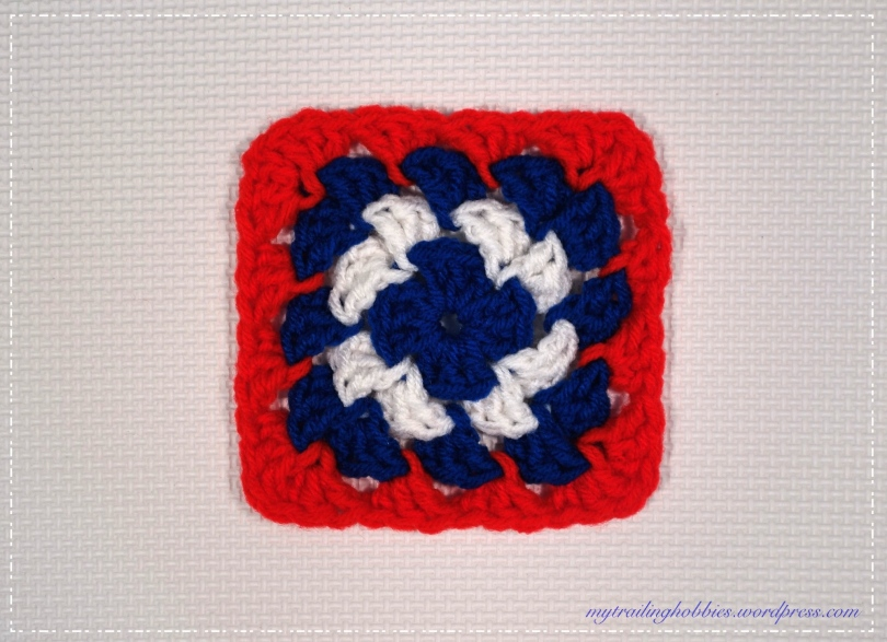 Patriotic-Crochet-Coaster