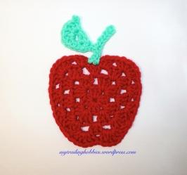 Crochet Granny Apple - free pattern - crochet chart (c)mytrailinghobbies.wordpress.com