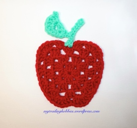 Crochet Granny Apple - free pattern - crochet chart (c)mytrailinghobbies.wordpress.com