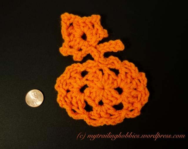 halloween crochet pumpkin