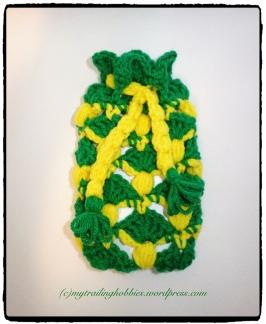 Crochet Pineapple Stitch Phone Case (c)mytrailinghobbies.wordpress.com