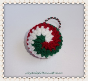 Spiral Crochet Crochet Ornament Crochet Snowball Christmas Ornament Crochet Baubles