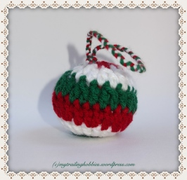 Spiral Crochet Crochet Classic Ornament Crochet Snowball Christmas Ornament Crochet Baubles