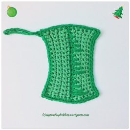Christmas Tree Facial Washcloth