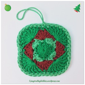 Christmasy Facial Washcloth
