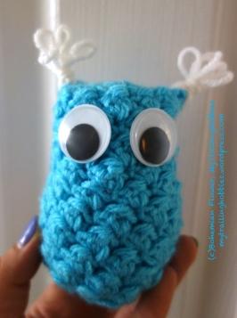 Crochet Owl WIP