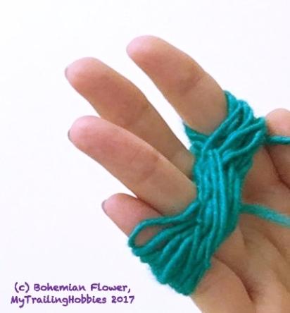 Spinning Yarn on a Pencil 12