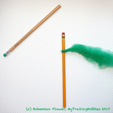 Spinning Yarn on a Pencil 2