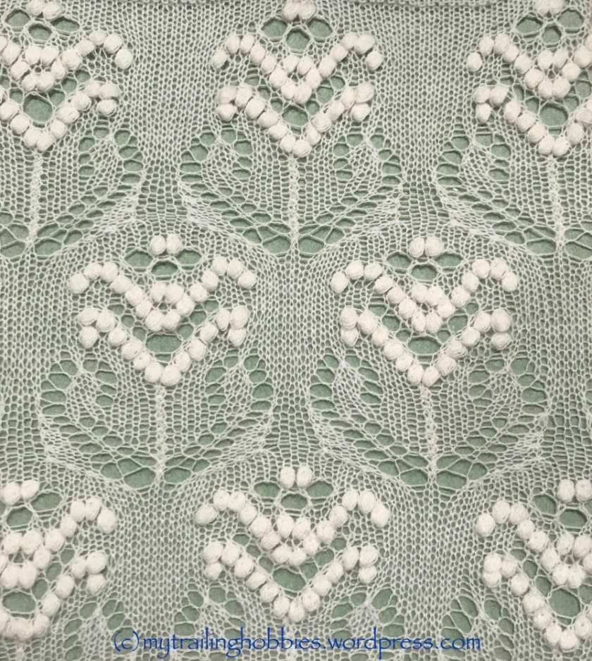 Haapsalu Lace Pattern Contest Winner August 2017