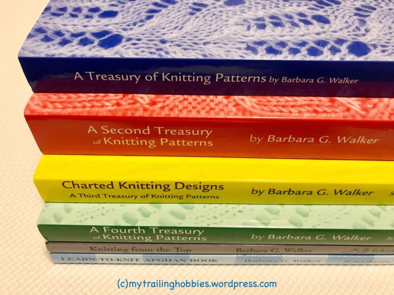 Barbara Walker Treasury of Knitting Patterns | Bohemian Flower MyTrailingHobbies | mytrailinghobbies.wordpress.com
