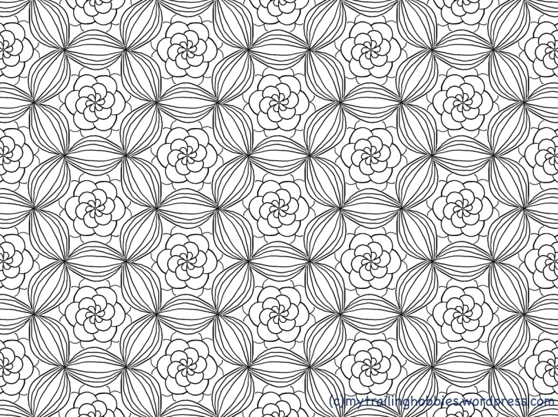 Bouquet - Coloring Page - Bohemian Flower - mytrailinghobbies.jpg