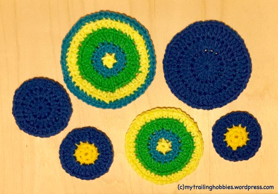 Crochet Circles - Bohemian Flower Mytrailinghobbies.wordpress.com