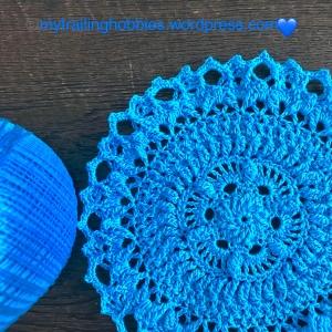 Lorelai Crochet Doily - mytrailinghobbies.wordpress.com.