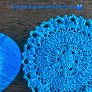 Lorelai Crochet Doily - mytrailinghobbies.wordpress.com.