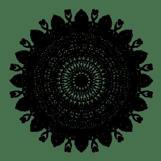 Love = Life Mandala - Free Coloring Page - (c)Bohemian Flower - MyTrailingHobbies