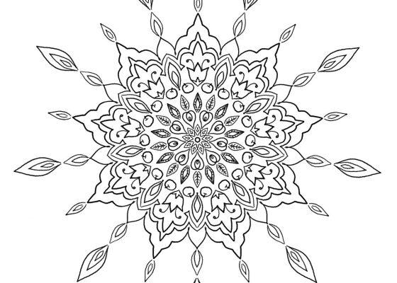 Mandala | Printable Coloring Pages – My Trailing Hobbies